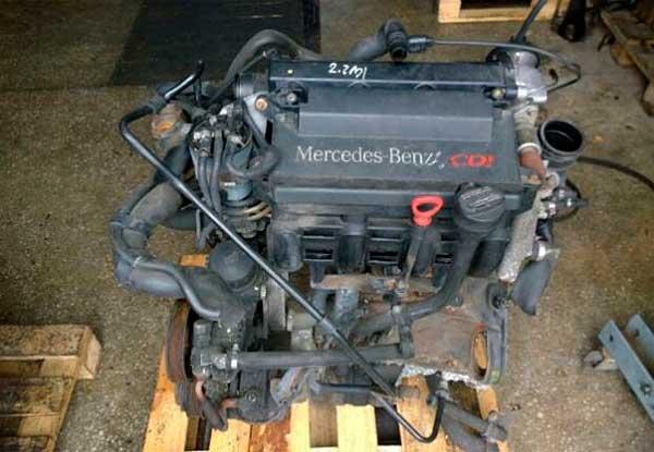Двигатель OM 604